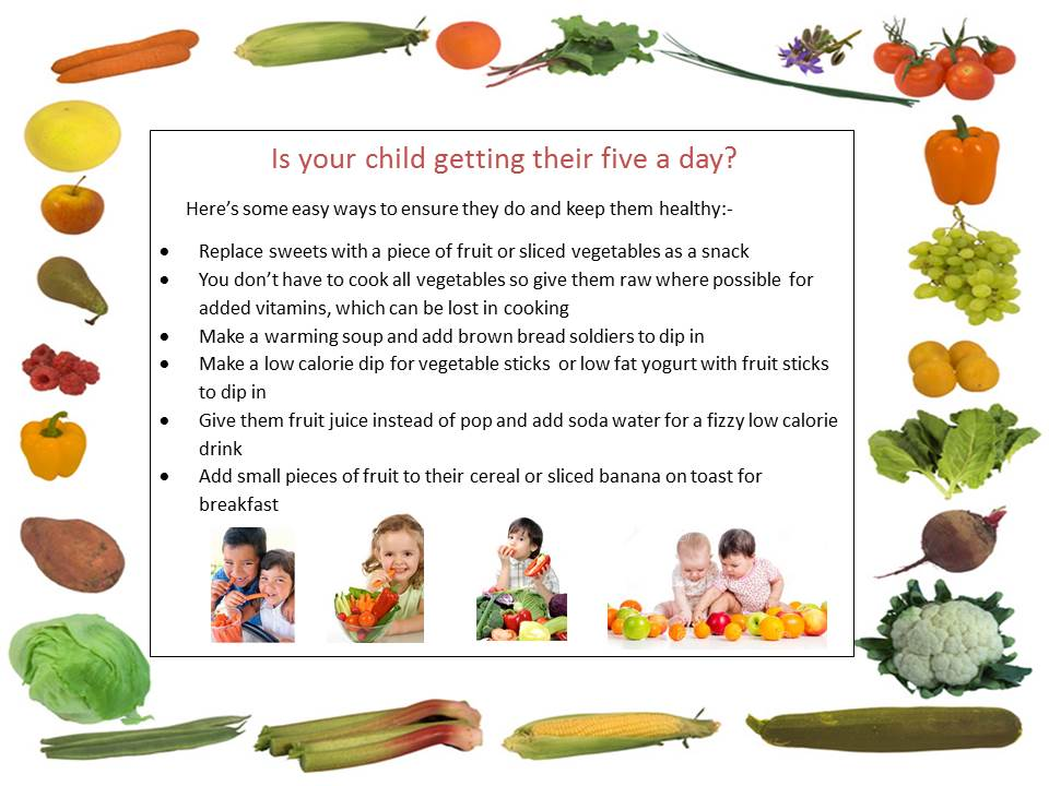Best Apps For 4 Year Olds >> 5 Fruit and Veg a Day | Osborne Nursery School