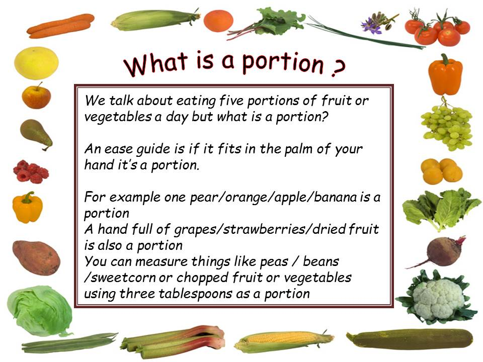 What is a portion